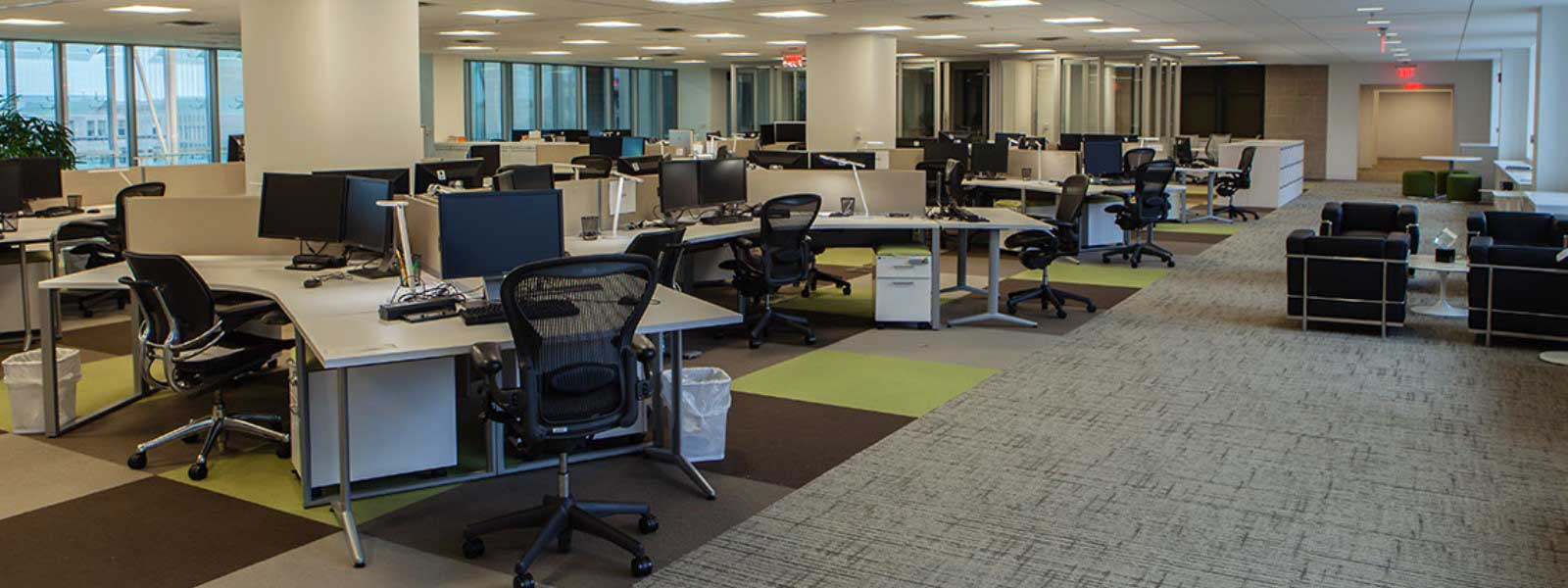 Open Floor Plan Office Furniture: Making Room For Innovation: Open-Plan Office Design Saves