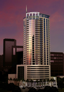 A rendering of Krystal Tower, planned for 530 N.W. First Court in Miami.