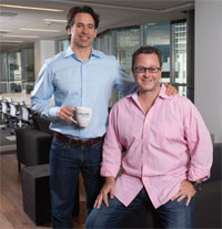 Pipeline Brickell founders, Philippe Houdard and Todd Oretsky.