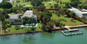 Plot on Indian Creek Island — the highest price ever recorded for vacant land in the neighborhood
