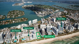 China City Construction Co. acquired the site at 6747 Collins Ave. in Miami Beach.