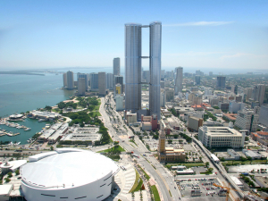 PMG's tower will be taller than the Empire World Towers once proposed for the same site: