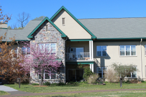 One green standout is Pennswood Village in Newtown, Pa., a Quaker continuing care retirement community founded in 1980